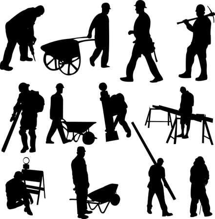 equipos trabajo: trabajadores de la construcci�n