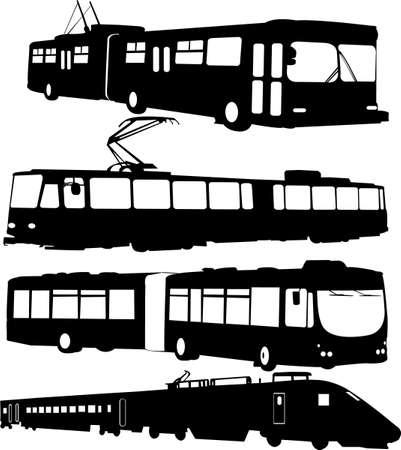 trolleybus: urban transportation
