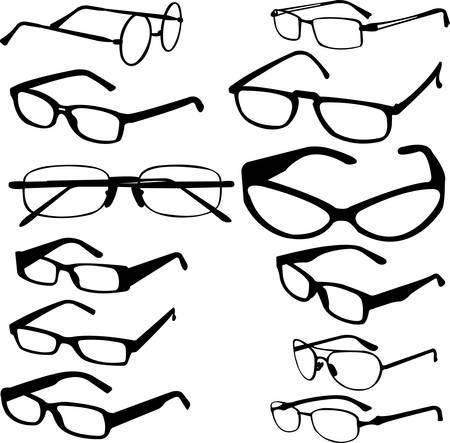 sunglasses collection  Illustration