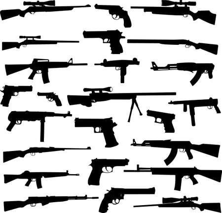 weapon collection Illustration