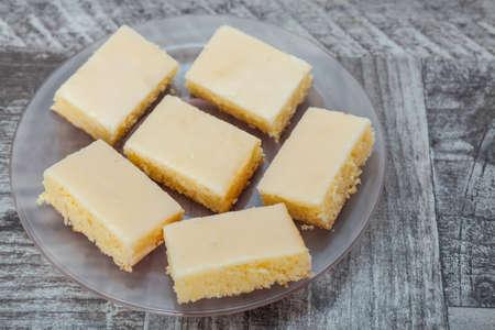 pie de limon: pastel de dulce pastel de limón Foto de archivo
