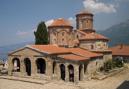 St. Naum monastery, Ohrid Lake FYR Macedonia Stock Photo