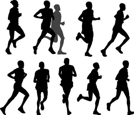marathon runners