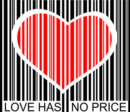 barcode: love has no price
