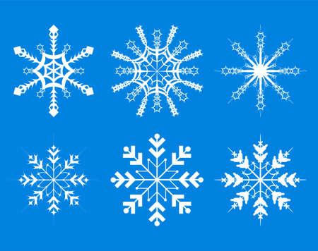 snowflakes - vector Vector