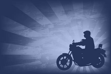 motorcyclist: motorcyclist on the abstract background