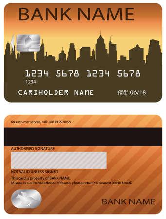 credit card  vector Vector