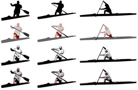 canoe: sprint canoe competitors