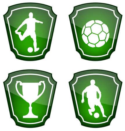 soccer: soccer icons