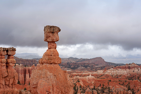 thor's: Thors Hammer in Brice Canyon National Park in Utah, USA Stock Photo