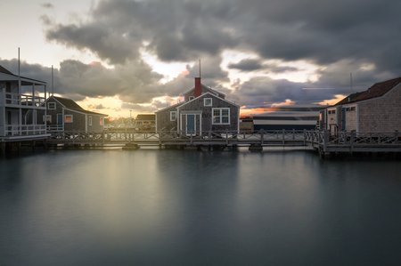 Harbour House in quiet and calm Sunset in Nantucket Island
