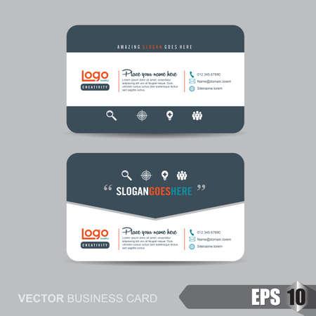 name: business card template,Vector illustration Illustration