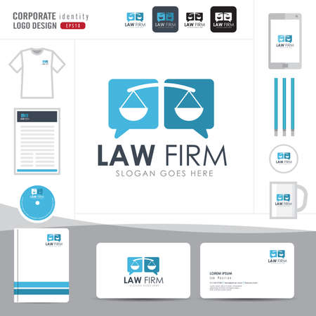 lawyers: Law logo,law firm,law office,law Logotype corporate identity template,Corporate identity,vector illustrator