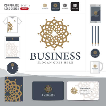 background stationary: Law logo,law firm,law office,law Logotype corporate identity template,Corporate identity,vector illustrator