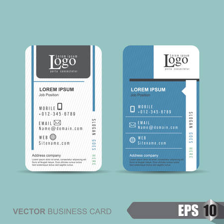 backdrop design: business card template,Vector illustration Illustration