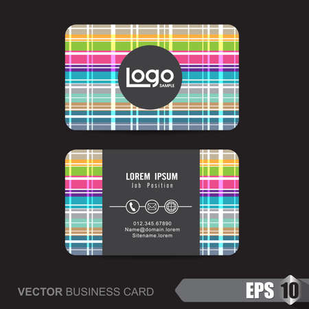 company name: business card template,Vector illustration Illustration