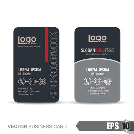 business card template,Vector illustration 일러스트