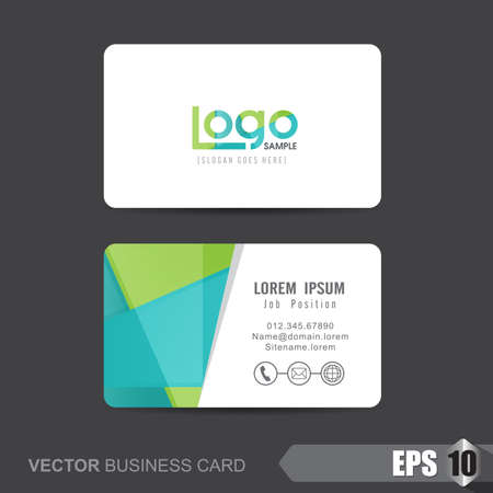 clean background: business card template,Vector illustration Illustration