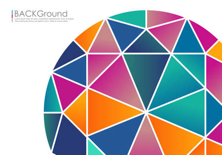 Abstract geometric background for design,vector background Banco de Imagens - 46179936