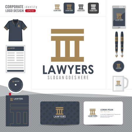 law office: Law logo,law firm,law office,law Logotype corporate identity template,Corporate identity,vector illustrator