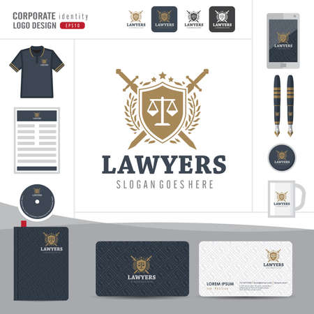 fermo: Law logo,law firm,law office,law Logotype corporate identity template,Corporate identity,vector illustrator