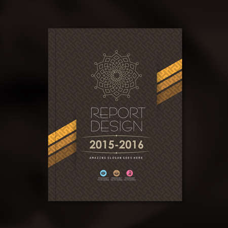 Modern Vector design template with luxury pattern background design for corporate business annual report book cover brochure flyer poster,vector illustration 일러스트