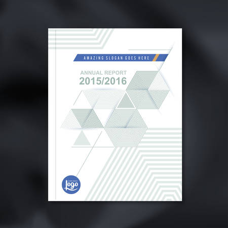 report card: Modern Vector design template with Abstract hexagon cube pattern background design for corporate business annual report book cover brochure flyer poster,vector illustration