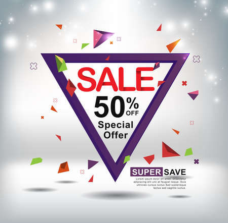 advertisement: sale banners poster tag design. Vector illustration Illustration