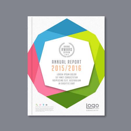 Moderne modèle de conception de vecteur avec la conception modèle de luxe de fond pour les affaires d'entreprise rapport annuel affiche la couverture du livre brochure flyer, illustration vectorielle Vecteurs