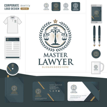 firm: Law logo,law firm,law office,law Logotype corporate identity template,Corporate identity,vector illustrator