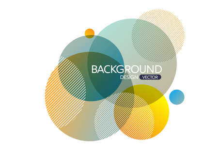 vector background: Abstract geometric round circle shapes background for design,vector background