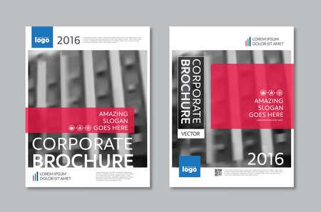 booklet design: Vector Brochure Flyer design Layout template in A4 size Illustration