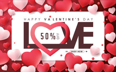 Valentines day sale background with icon set pattern. Vector illustration.Wallpaper.flyers, invitation, posters, brochure, banners.