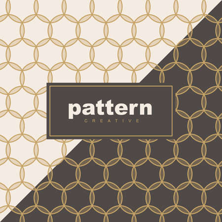 abstract vintage geometric wallpaper pattern background for packaging of product.