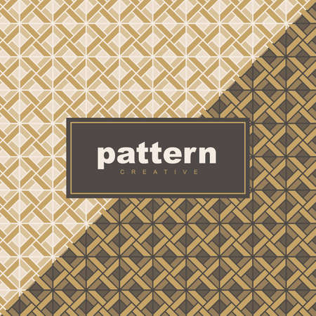 abstract vintage geometric wallpaper pattern background for packaging of product