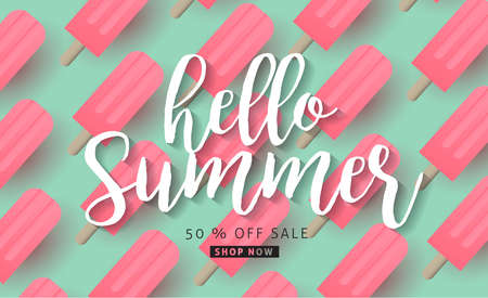 Summer sale background layout banners.