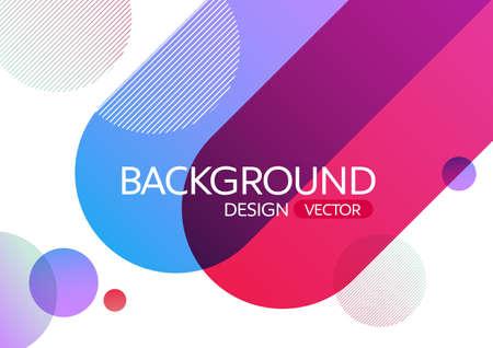 De abstracte geometrische ronde cirkel geeft de achtergrond van de gradiëntkleur voor ontwerp, vectorachtergrond gestalte