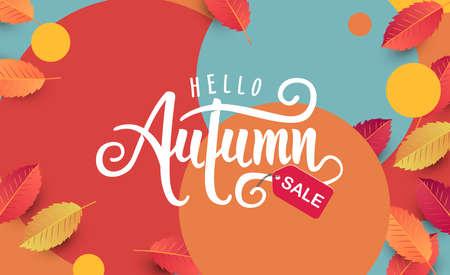 Autumn calligraphy, Seasonal lettering.