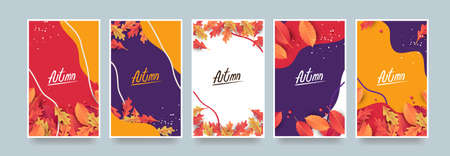 Autumn Gift promotion Coupon banner background