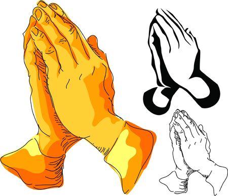 manos orando: manos que oran