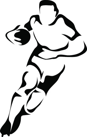 try: rugby player logo
