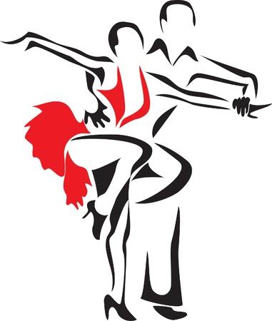 samba dance Stock Vector - 10771570