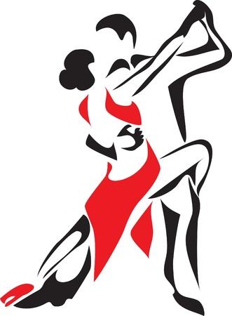 erotic: rumba logo Illustration