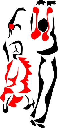 paso doble - latin dance logo