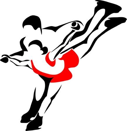 figure skate: figure pair skaters