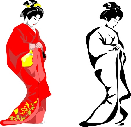 geisha Stock Vector - 10799658