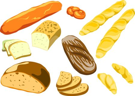 bakery products Stock Vector - 10833617