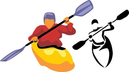 paddler: kayaker