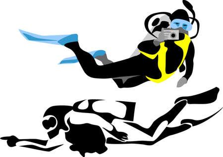photographer: scuba diver