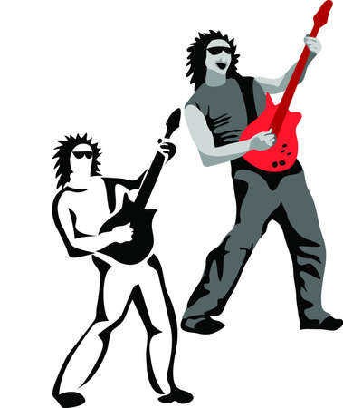 3,590 Rock Guitarist Cliparts, Stock Vector And Royalty Free Rock ...